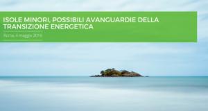 Isole minori, possibili avanguardie della transizione energetica