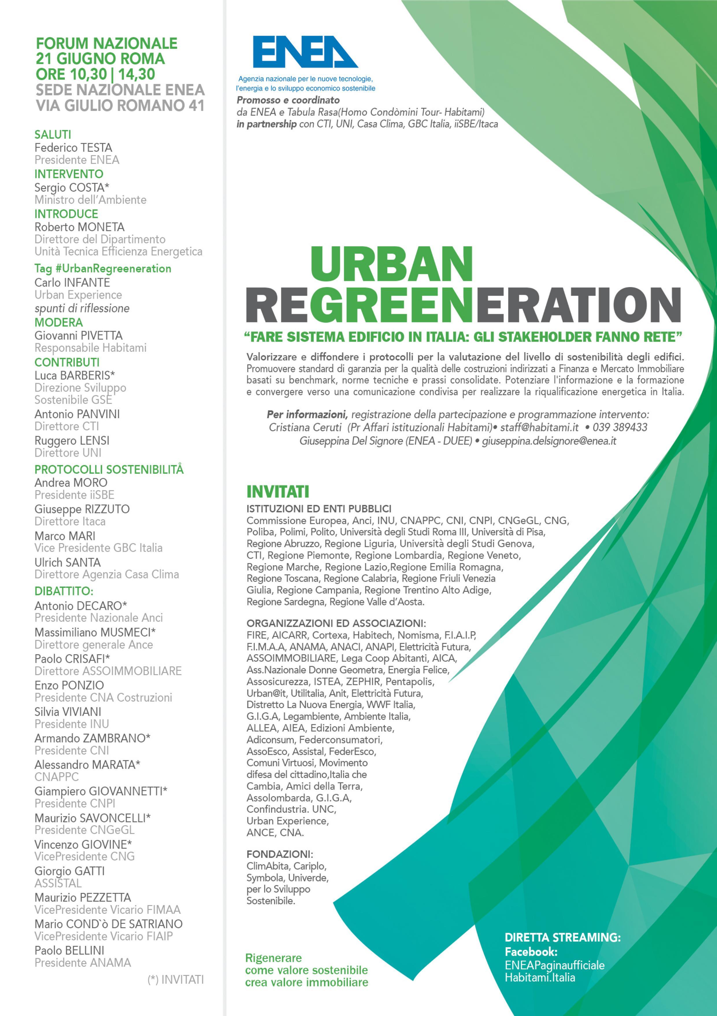 Urban Regreeeration