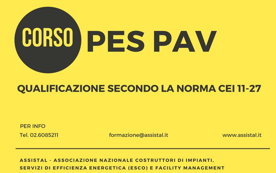 Corso PES PAV Milano